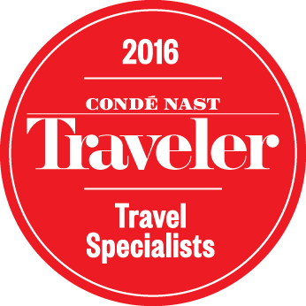 Conde Nast Traveler 2016 Travel Specialists